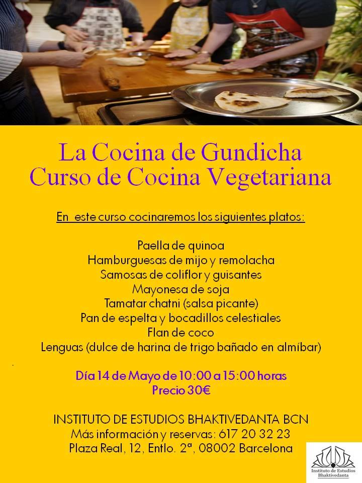 Curso de cocina vegetariana gundicha - Curso de cocina vegetariana ...